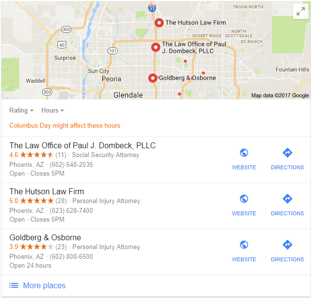 local seo for attorneys phoenix az